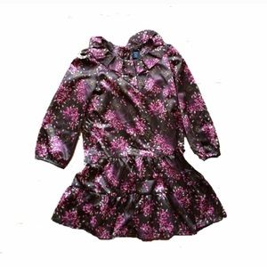 NWT BabyGap Floral long sleeve dress